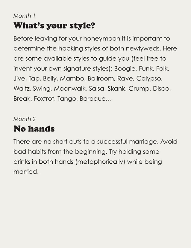 Hacking and Your Marriage