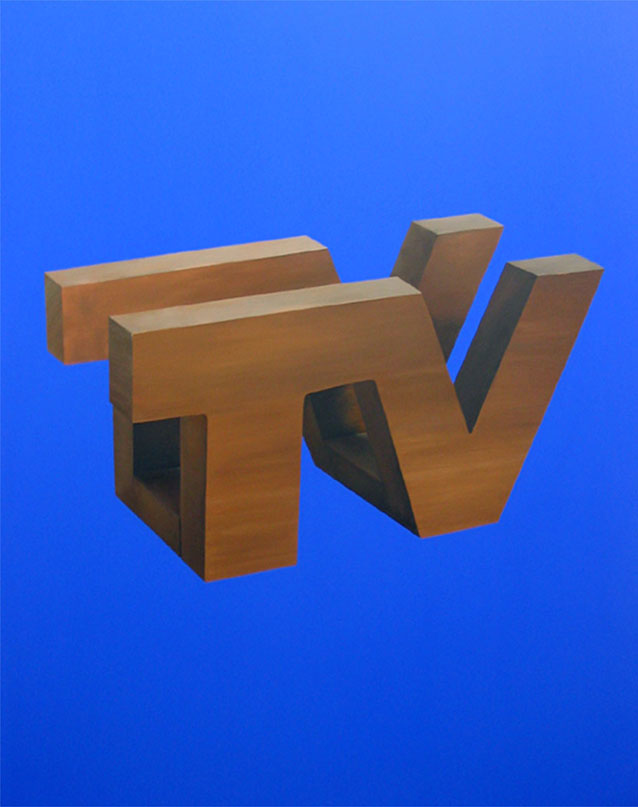 TV Napkin Holder / Vermont TV Guide Holder